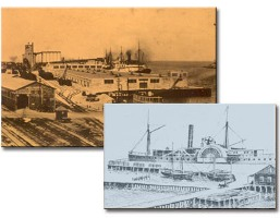 Historical photos of the Port