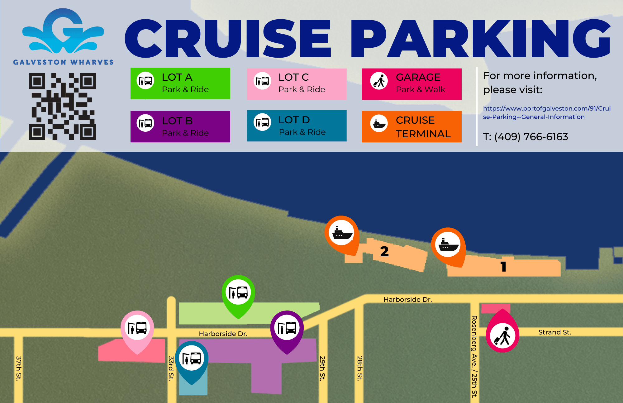 CRUISE PARKING MAP