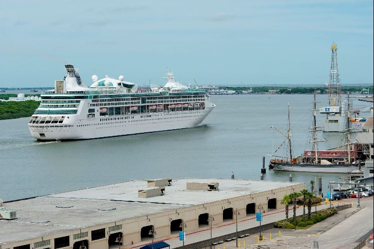 2019 May 6 Enchantment of the Seas First Sailing From Galveston
